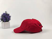 Кепка Бейсболка Мужская Женская The Hundreds Rose с Розой Красная, фото 3