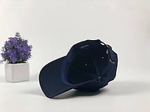 Кепка Бейсболка Мужская Женская The Hundreds Rose с Розой Темно-Синяя, фото 3