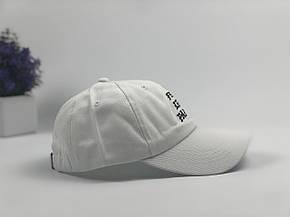 Кепка Бейсболка Мужская Женская City-A с надписью I Feel Like Pablo Белая, фото 2