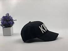 Кепка Бейсболка Мужская Женская City-A с надписью King Король Черная, фото 3