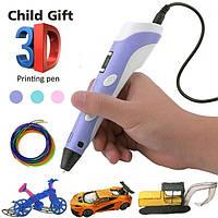 3D ручка для рисования с экраном, 3д ручка c LCD дисплеем, принтер для рисования, 3D pen, ручка 3д, 3д маркер