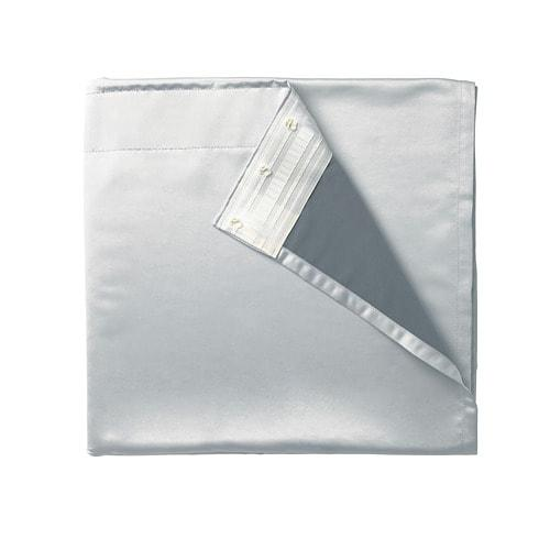 ИКЕА (IKEA) ГЛАНСНЭВА, 702.912.89, Подкладка д/пары гардин, светло-серый, 143x290 см - ТОП ПРОДАЖ