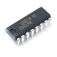 Чип CD4017BE CD4017 DIP16 счетчик делитель десятичный декадный