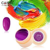Гель-краска Canni №596 ( розово-сливовая) 5 мл