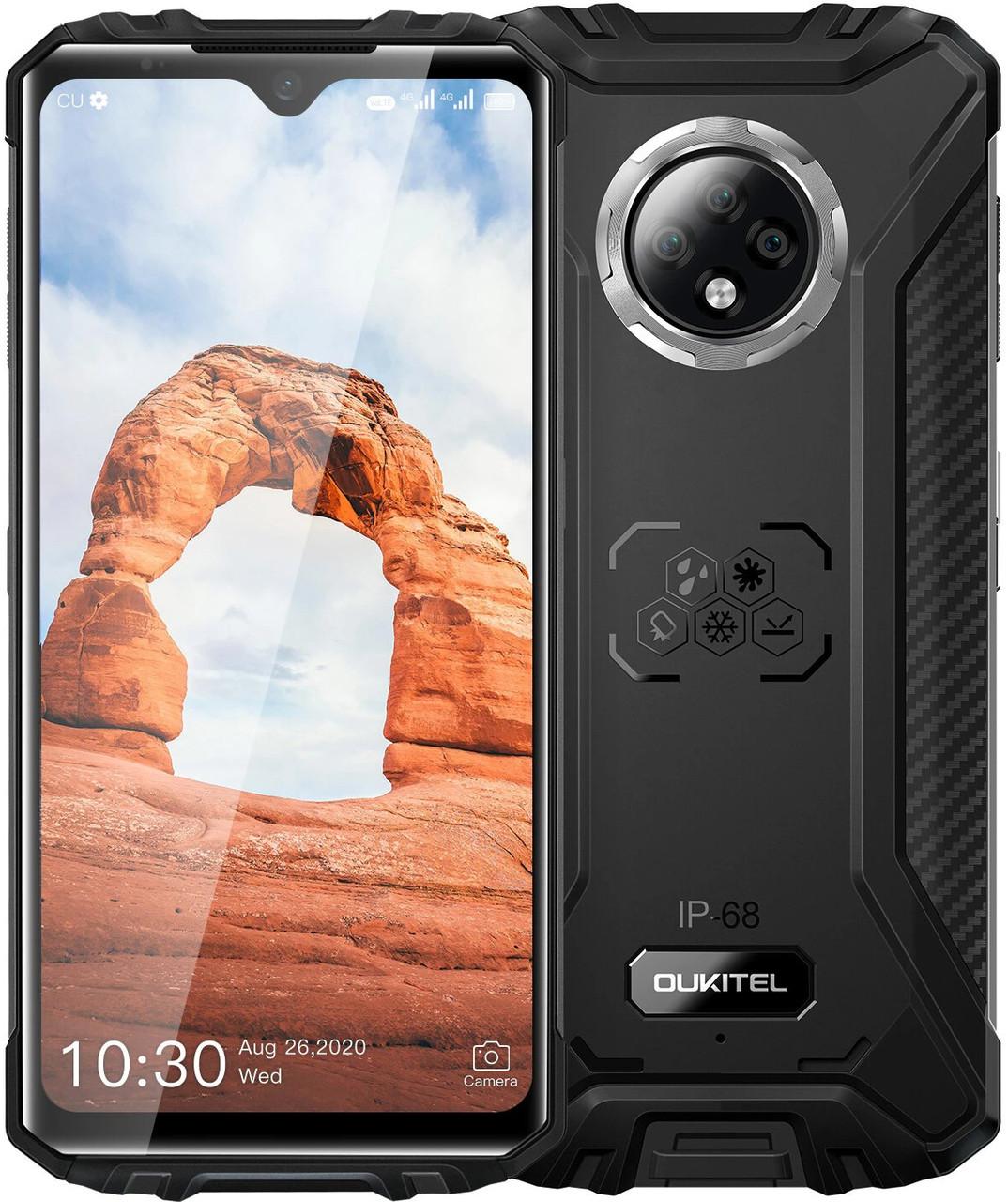 Oukitel WP8 Pro | Чорний | 4/64 ГБ | NFC | 4G/LTE | Гарантія