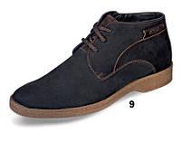 Мужские ботинки зимние МИДА 14918 из натурального нубука