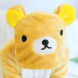 Кигуруми пижама детская Медведь цельная комбинезон для детей, фото 4