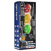 Игрушка Светофор KT360-012 на бат-ке (Белый)