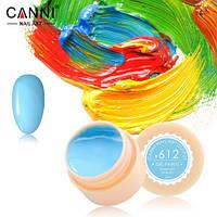 Гель-краска Canni №612 (голубая) 5 мл