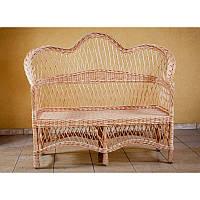 Диван. Плетеная мебель из лозы.