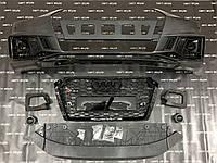 Передний бампер Audi A4 S4 стиль RS4 2016-2020