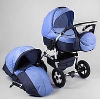 Коляска для детей Saturn НОВАЯ № 0140-С13 синий 91718