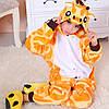 Кигуруми пижама детская Жираф цельная комбинезон для детей, фото 4