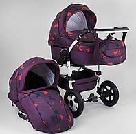 Коляска для детей Saturn НОВАЯ № 0140-С11 фиолетовый 90350