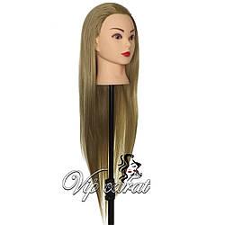 Учебная голова манекен для причесок / болванка для парикмахера / манекен голова для девочки