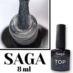 Топ с шиммером без липкого слоя  TOP 2 Saga  8 мл