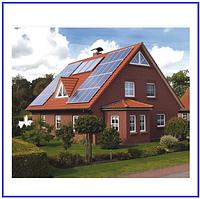 Сетевая солнечная электростанция 10кВт под зеленый тариф