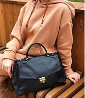 Італійські шкіряні сумки сумка через плече жіноча шкіряна df265f265, фото 1