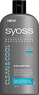 Шампунь SYOSS Men Clean&Cool для нормального та жирного волосся 500 мл
