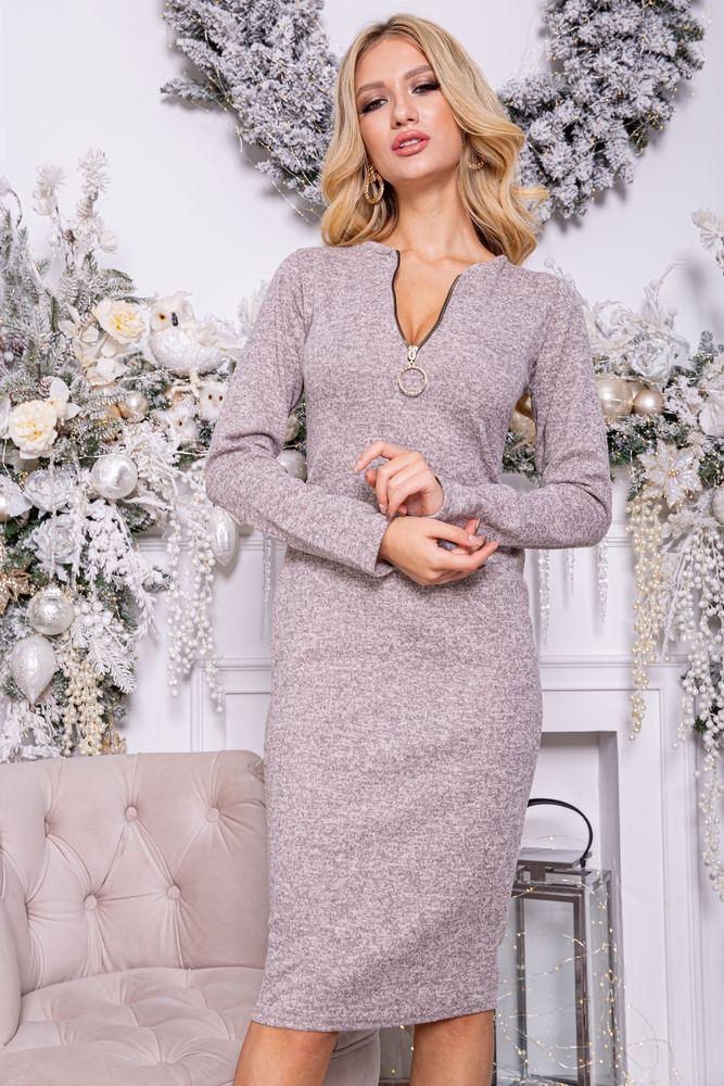 Платье 153R096 цвет Пудровый XS