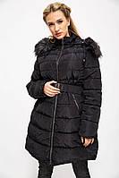 Куртка женская 129R8287 цвет Черный, фото 1