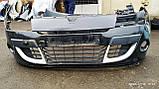 Бампер передний Рено Меган 3 (хэтчбек) б/у, фото 2