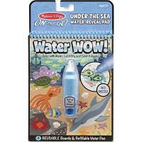 Набор для творчества Melissa&Doug Волшебная водная раскраска Подводный мир (MD19445)