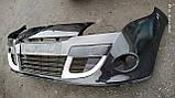 Бампер передний Рено Меган 3 (хэтчбек) б/у, фото 3
