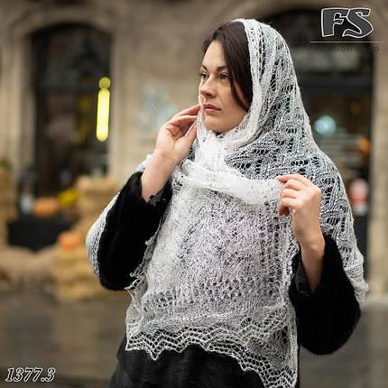 Женский стильный палантин- паутинка Руслана, фото 2