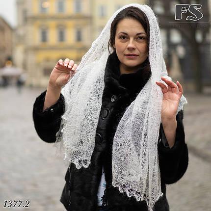 Женский стильный палантин- паутинка Ася, фото 2