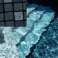 Лайнер для бассейна ElbeBlue Silver Black «черное серебро» (усиленный)