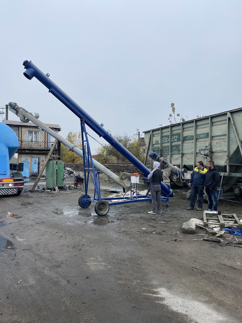Оборудование для разгрузки цемента из вагонов-хопперов передвижной (мобильный)