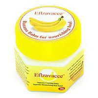 Крем-бальзам Eflzavacce 20 г от трещин на пятках и растяжек на коже, Банановый