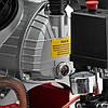 Компрессор 50 л, 2.23 кВт, 220 В, 8 атм, 354 л/мин, 2 цилиндра INTERTOOL PT-0004, фото 3