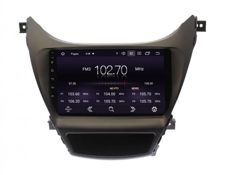 """Штатна автомагнітола Hyundai Elantra 2011-2013 9"""" Android 10.1 (4/32Гб)"""
