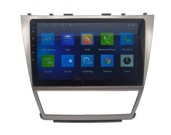 "Штатна автомагнітола для Toyota Camry V40 2008-2011 10"" Android 10.1 (4/32Гб), фото 2"