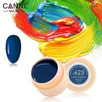 Гель-краска Canni №623 (полуночно-синяя) 5 мл