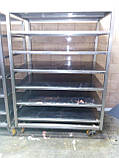 Стелаж виробничий 500х500х1800 4 полиці з 201 нержавіючої сталі, фото 8