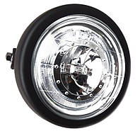 Мото фара головного світла 6 дюймів CREE LED 27 W, Cafe Racer, Bobber, Custom, 12 V