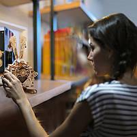 Деревянная музыкальная шкатулка конструктор Robotime AM481 Кролик детский, фото 9