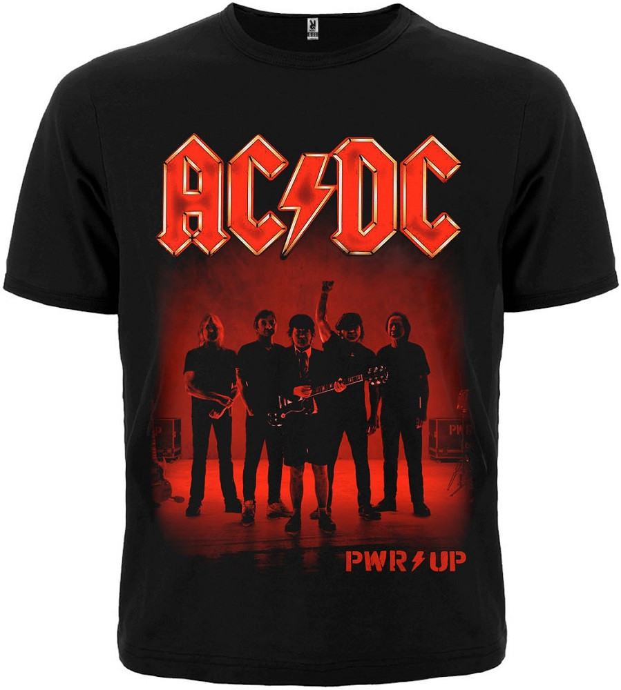 Футболка AC/DC (PWR UP band)