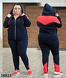 Женский спортивный костюм большого размера  р. 56-58 60-62, фото 6