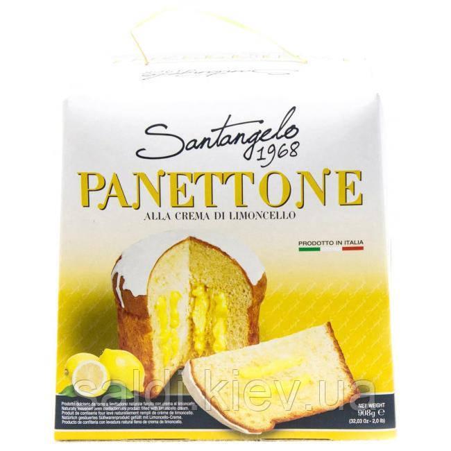 Панетон Santagelo Panettone Alla Crema Di Limoncello 908 г