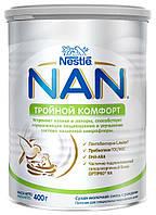 Суміш молочна Nestle NAN Потрійний комфорт з 0 місяців, 400 г