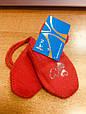 Варежки для новорожденных на девочек Margot Польша shinen оранжевый, фото 2