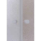 Угловая душевая кабина Q-tap  Presto WHI1099AP5 Pear + поддон Uniarc 309915, фото 6