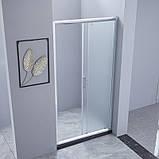 Душевая дверь в нишу Lidz Zycie SD90x185.CRM.FR Frost, стекло 5мм, фото 7