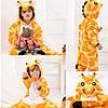 Кигуруми пижама детская Жираф цельная комбинезон для детей, фото 5