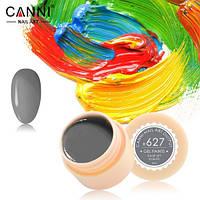 Гель-краска Canni №627 (серо-зеленая) 5 мл