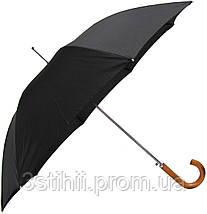 Зонт-трость Doppler 740167-3 полуавтомат Черный, фото 3